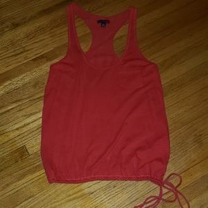 American Eagle lace back tank top